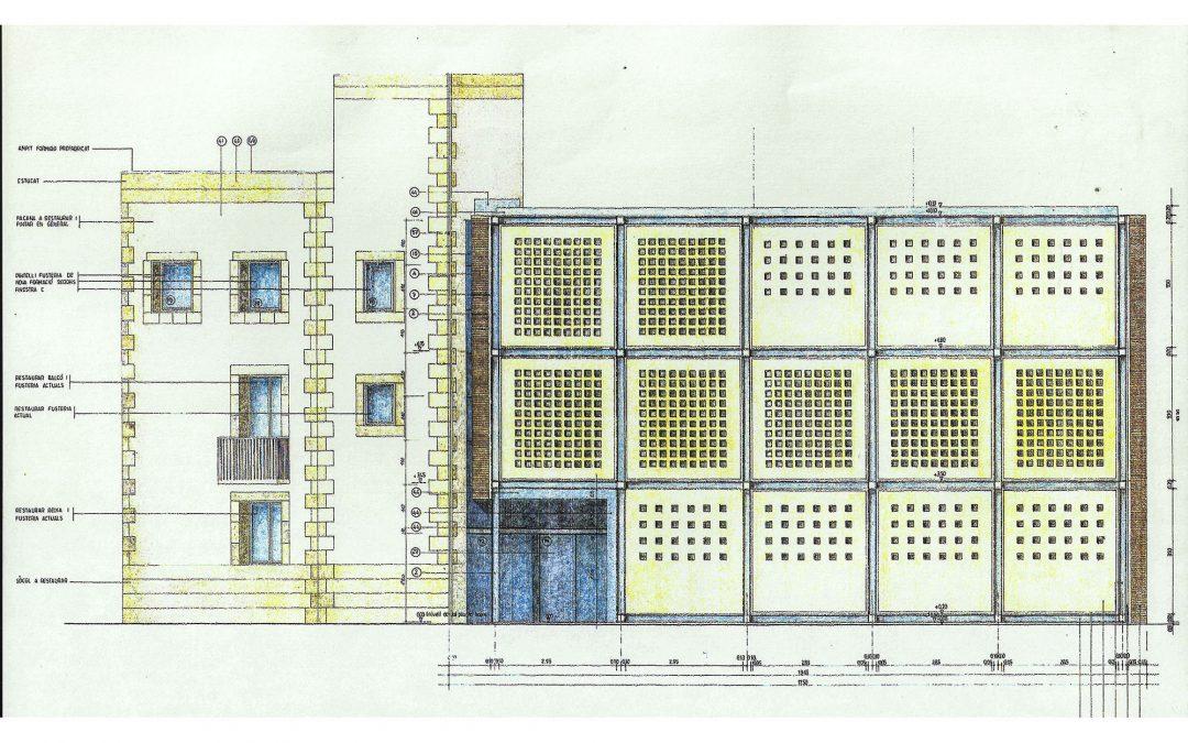 1994. Ampliació i rehabilitació de Centre Cívic a Vilanova i la Geltrú. Barcelona.