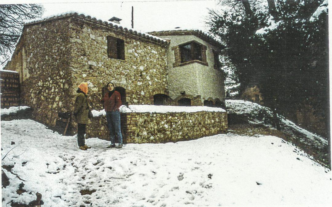 1995. Reforma i ampliació de masia a Gelida (Barcelona).