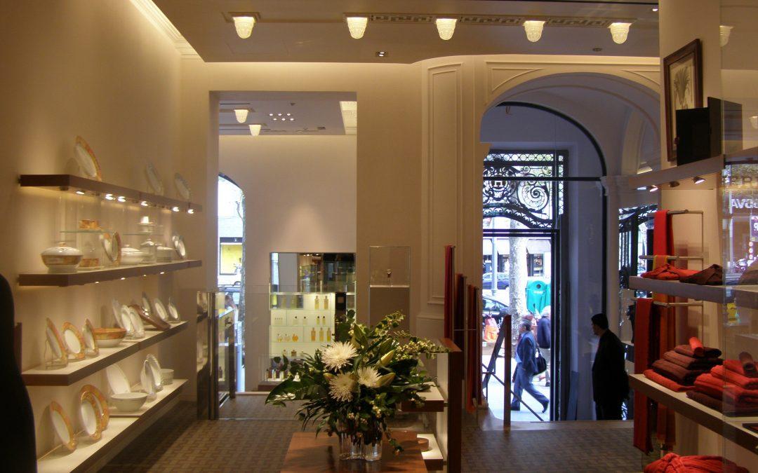 2007. Botiga Hermes al Pg. Gràcia de Barcelona.