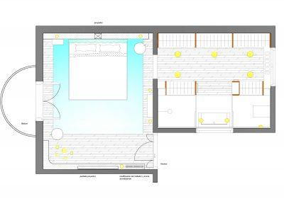 Planta reforma Suite