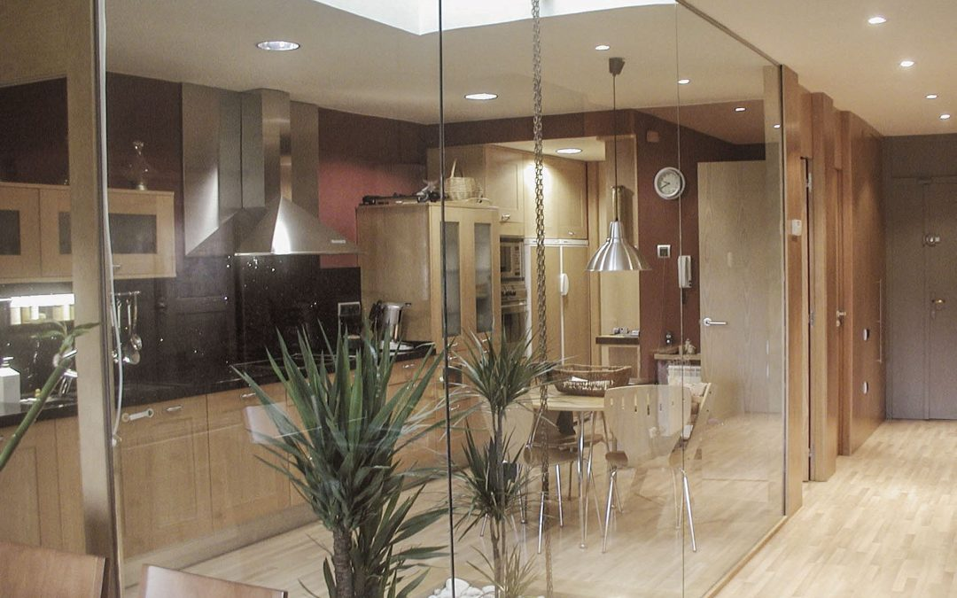 2005. Reforma d'Habitatge entre mitgeres a Matadepera (Barcelona).
