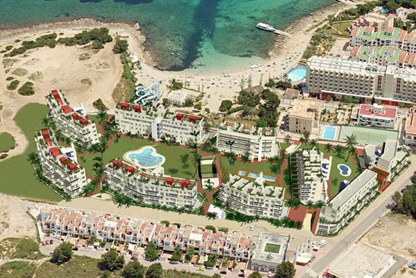 2001. Nova Planta. Complex residencial a Eivissa.
