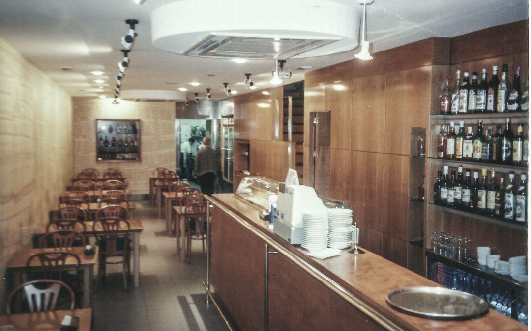 1993. Reforma del Restaurant Coventry a la Rba. Catalunya de Barcelona.