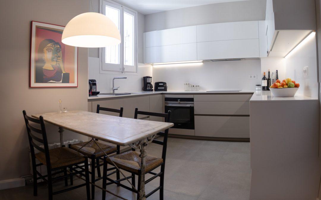 2018. Reforma d'un habitatge al C. Santa Tecla de Barcelona. 2ª Fase.